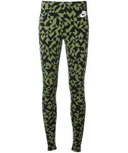 Nike | Printed Leggings Large Cotton/Spandex/Elastane