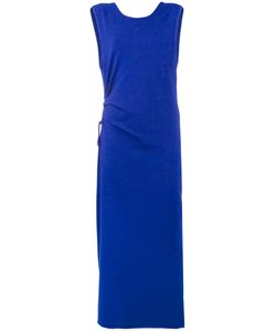 Humanoid | Side Ruched Maxi Dress Size Medium