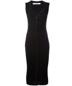 Givenchy | Ribbed-Knit Fitted Dress Size Medium