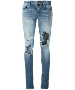 Saint Laurent | Stretch Denim Skinny Jeans 29 Cotton/Spandex/Elastane