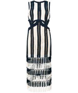 SELF-PORTRAIT | Crochet Cut-Out Dress