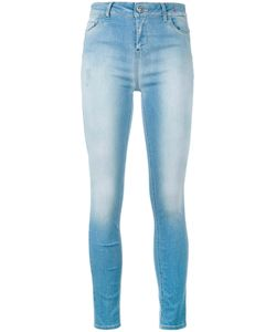 Twin-set | Faded Skinny Jeans 31 Cotton/Polyester/Spandex/Elastane