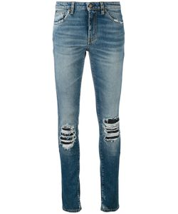 Saint Laurent | Ripped Detail Jeans 27 Cotton/Spandex/Elastane