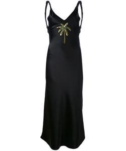 ATTICO   Satin Caroline Long Dress