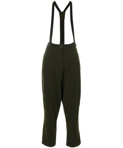 Rundholz Black Label | Pinafore Cropped Tailored Trousers Women