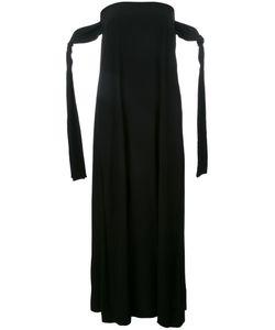 Erika Cavallini   Strapless Shift Dress 42 Silk/Acetate/Polyester