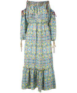 Miahatami   Платье С Открытыми Плечами И Цветочным Узором