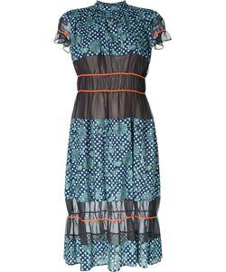 Kolor | Sheer Fla Dress 2 Cotton/Lyocell