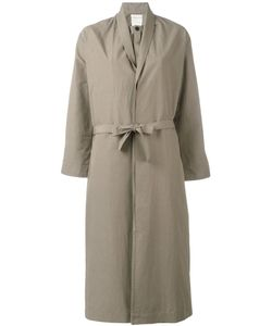 Stephan Schneider | Belted Coat Medium Cotton/Linen/Flax
