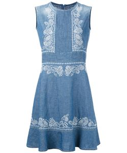 Ermanno Scervino | Embroidered Sleeveless Dress