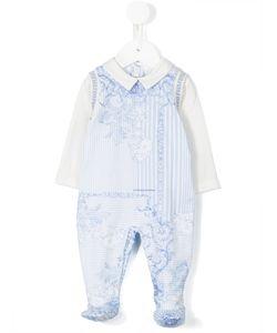 Young Versace | Baroque Print Pyjamas Infant 3 Mth