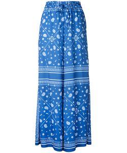 FLEAMADONNA | Paisley-Print Palazzo Trousers Size Medium