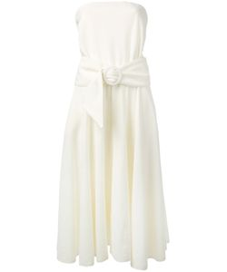 Lacoste | French Terry Strapless Dress