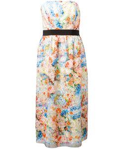 SI-JAY | Print Strapless Dress