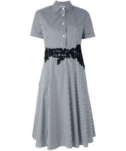 P.A.R.O.S.H. | P.A.R.O.S.H. Striped Flared Shirt Dress