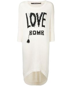 KITX | Love Bomb Jumper Medium Cotton/Wool/Nylon