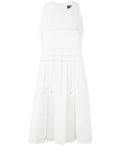 Paule Ka | Contrast Stitch Sleeveless Dress Size 40