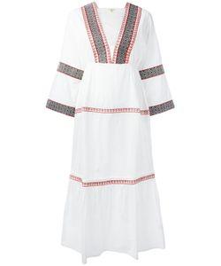 DAFT | Embroidered Kaftan Dress Size Xs