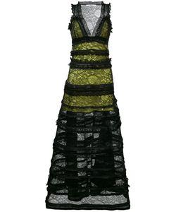 Givenchy   Платье С Кружевной Отделкой