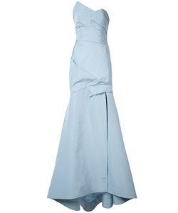 Monique Lhuillier   Платье С Деталью С Запахом