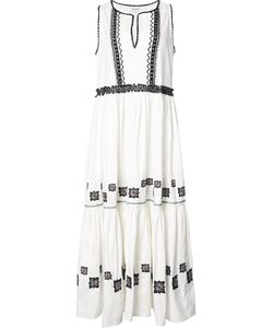 Suno | Embroide Maxi Dress 2 Cotton