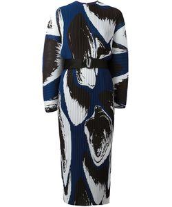 Solace | Else Printed Plissé Dress