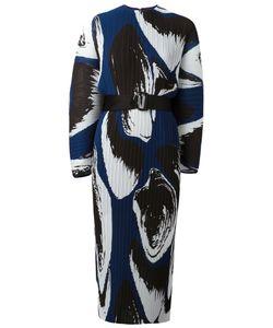Solace | Else Printed Plissé Dress Size 10