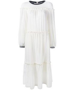 Mother Of Pearl   Tiered Dress Size Medium/Large