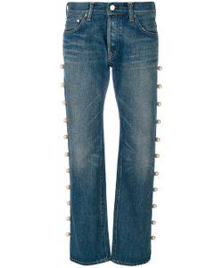 TU ES MON TRESOR | Jeans With Side Trim Pearl Embellishment