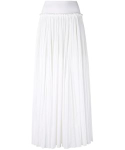 Alberta Ferretti | Gathered Waist Maxi Skirt