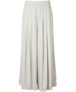 Just Female | Draped Palazzo Pants Medium Polyester