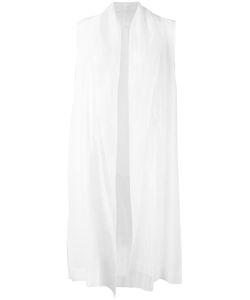 DEMOO PARKCHOONMOO   Long Waistcoat 42 Polyester/Acetate
