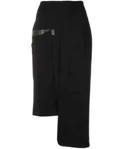GLORIA COELHO | Asymmetric Skirt P Polyester/Viscose/Elastodiene