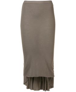 Rick Owens Lilies | Pleated Detail Skirt