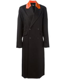 Yang Li | Pointed Lapels Double-Breasted Coat