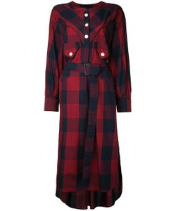 Maison Mihara Yasuhiro | Buffalo Checkered Dress