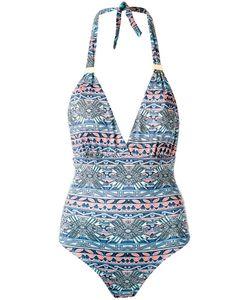 Sub | V Neck Printed Swimsuit Size Medium