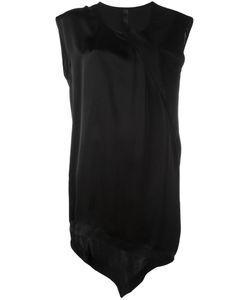 Ilaria Nistri | Asymmetric Hem Mini Dress 40 Calf
