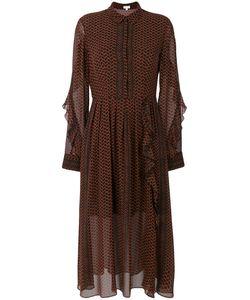 Lala Berlin | Полупрозрачное Платье-Рубашка