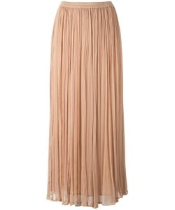 Mes Demoiselles | Loose Pleat Long Skirt Size