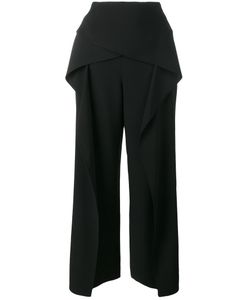 Roland Mouret | Cropped Wide Leg Trousers Size 10