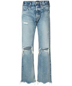 Moussy | Distressed High-Rise Jeans 26