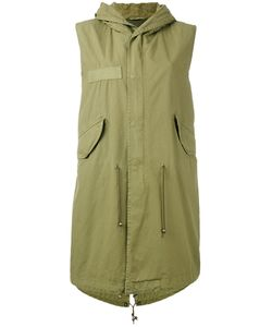 MR & MRS Italy | Sleeveless Parka Coat Size Medium