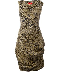 Vivienne Westwood | Lace Print Draped Dress