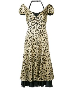 Cinq A Sept | Leopard Print Dress Size 4