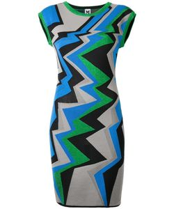 Missoni | Geometric Pattern Knitted Dress 42 Cotton/Polyamide/Polyester Fibre