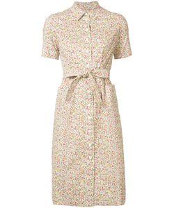 Ines De La Fressange | Printed Shirt Dress Size 38