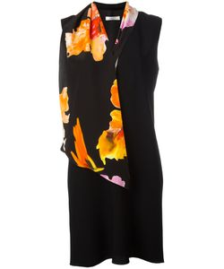 Lanvin | Scarf Detail Dress 38 Acetate/Viscose/Silk