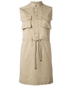 Dsquared2 | Sleeveless Shirt Dress 40 Cotton/Spandex/Elastane