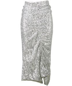 Preen By Thornton Bregazzi | Asymmetrical Sequin Skirt Size Large